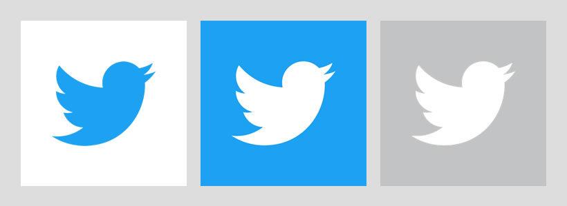入っているロゴは下記の3種類で、青のロゴ・青背景に白のロゴ・グレーの背景に白のロゴです。
